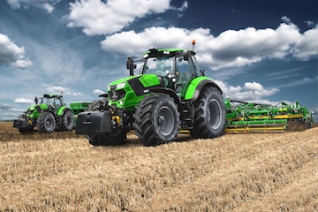 Deutz-Fahr 7 Series in action