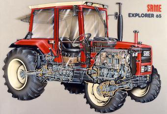 Same Explorer 85